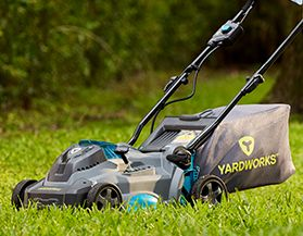 Shop for Yardworks cordless lawn mowers