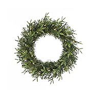 CANVAS Bromley Fir Wreath 24-in