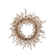 CANVAS Christmas Grapevine Glitter Wreath 22-in