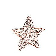 CANVAS Battery Operated Wire Star Assorted 11-in