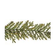 CANVAS Micro-Brite Pre-Lit NormandyFir Garland 9-ft