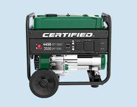 Certified Generators