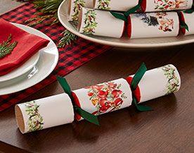 Christmas Crackers, Napkin Holders & Namecards