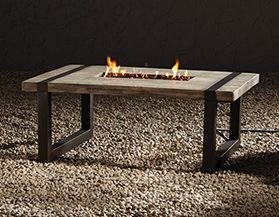 Gas Fire Tables