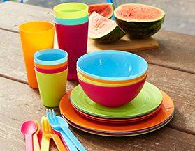 Camp Tableware