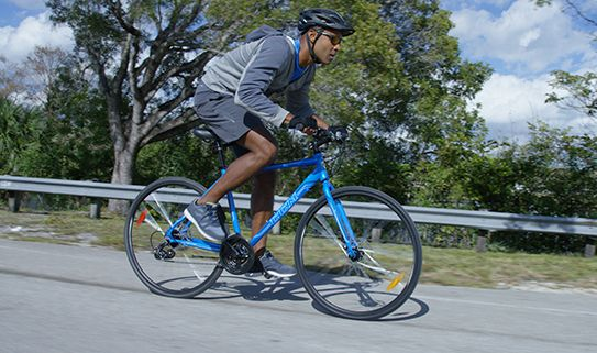 Go far and fast with our road bikes