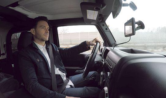 GPS avec commandes vocales
