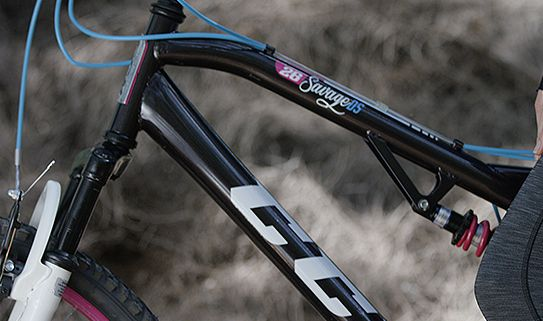 Steel frames make for very durable mountain bikes