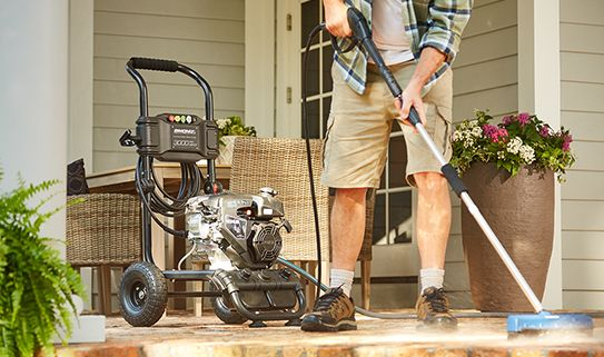 Discover our best versatile gas pressure washers