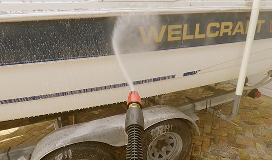 Turbo and RotoScrub Wide Nozzles help you clean faster
