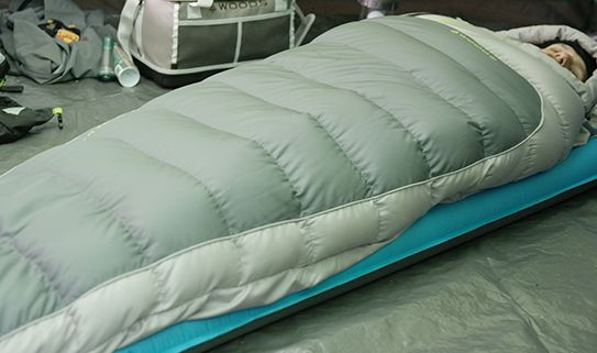 Check out our warm and light mummy sleeping bags