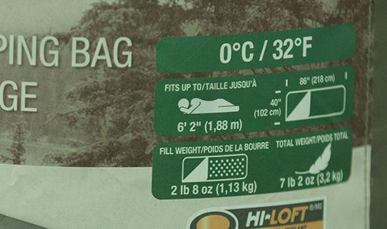 Voir notre assortiment de sacs de couchage pour température douce
