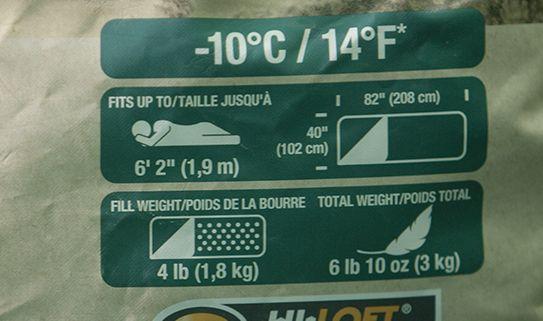 Explorez nos sacs de couchage pour température froide