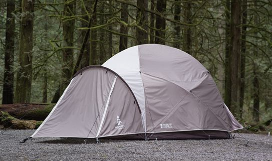 Sturdy and easy to set up, our dome tents are great camping gear