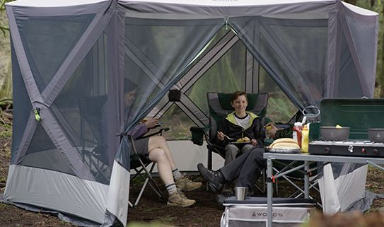 Check out our assortment of camping screen houses
