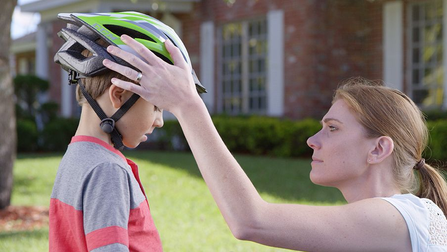 Protect your kids with bike helmets