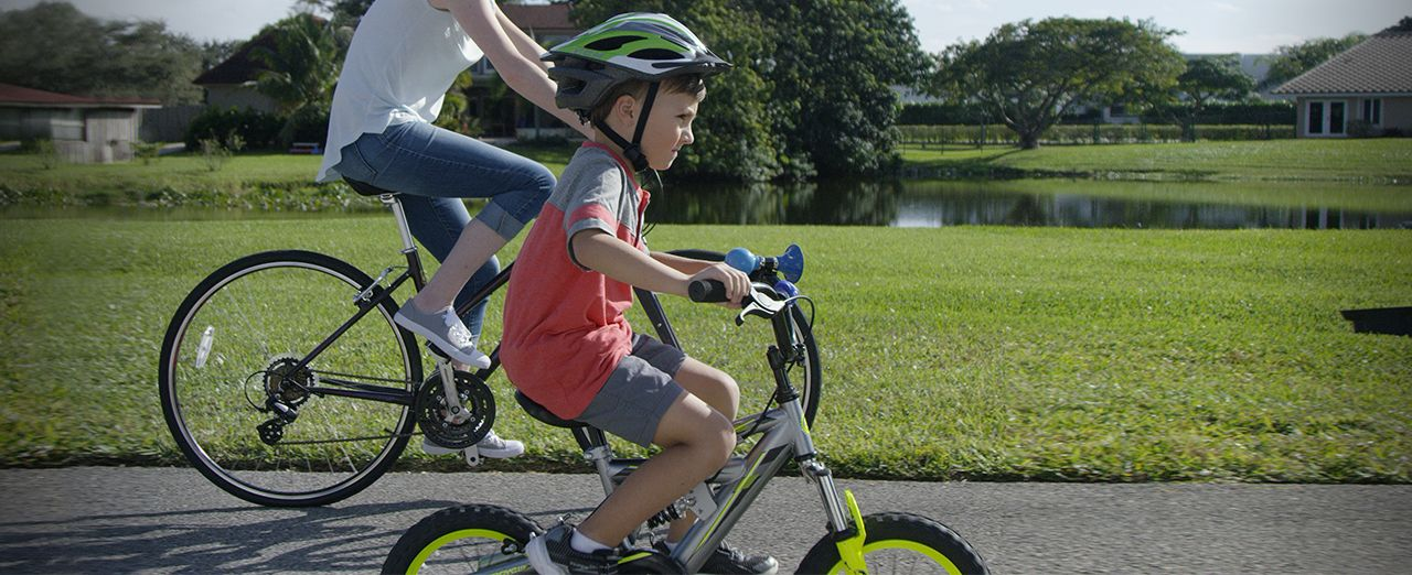 How to fit a child's bike | Canadian Tire. Play video