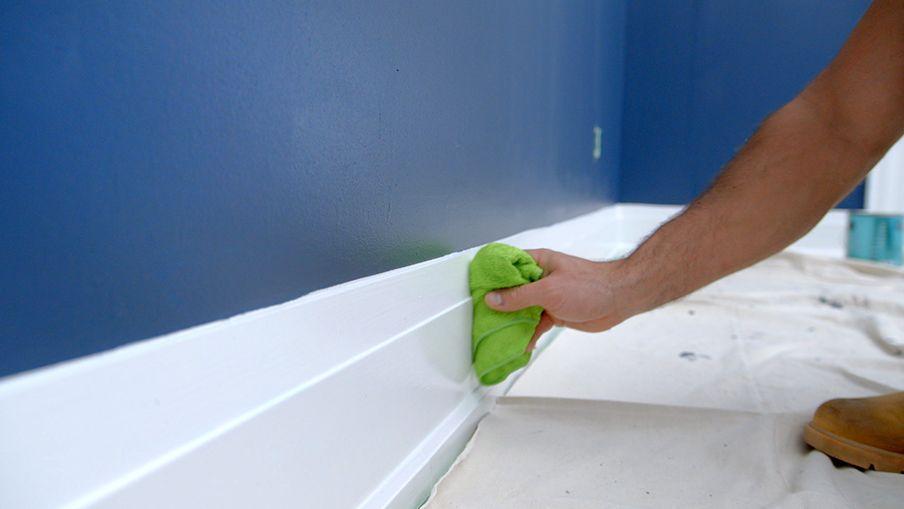 Commencez par nettoyer votre bordure soigneusement