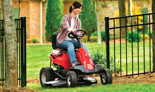 Browse our assortment of riding mowers