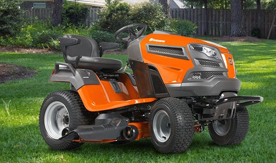 Check out our lawn and garden tractors