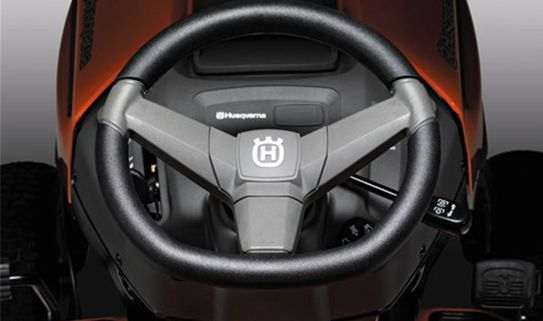 Decrease drive fatigue with a comfort grip steering wheel