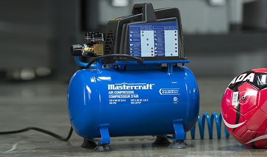 How To Use An Air Compressor >> How To Choose An Air Compressor Canadian Tire