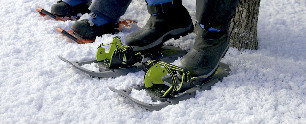 How to choose snowshoes. Play video