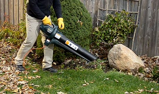 Choose one of our convenient electric leaf blowers