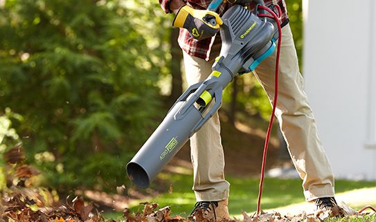 Discover leaf blowers with aero force technology