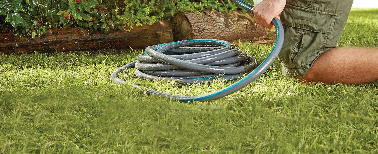 How to maintain a garden hose | Canadian Tire Indoor House Plant Watering Hose Html on