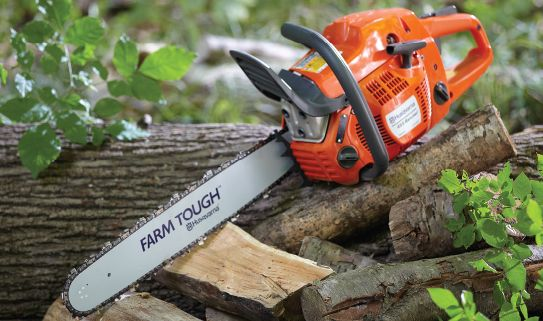 Browse our selection of gas chainsaws