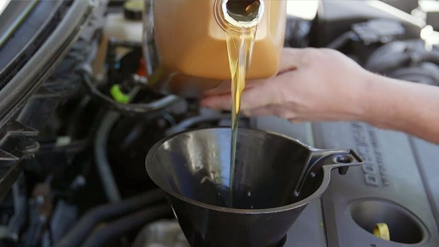 Refill the oil