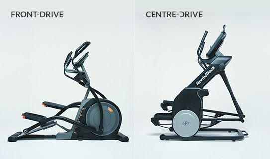 Les cadres elliptiques à entraînement avant et central sont moins encombrants.