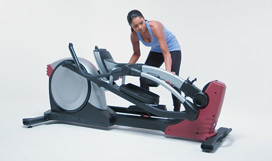 Rear-drive elliptical trainers are larger but some models fold