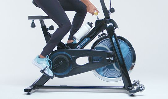 Discover the benefits of a heavier exercise bike flywheel