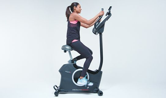 Boost your fitness with our upright exercise bikes