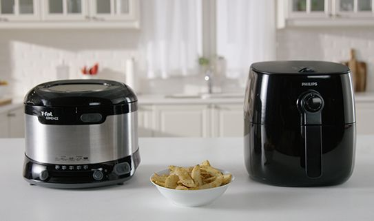 Small fryers hold 1 kilogram or less