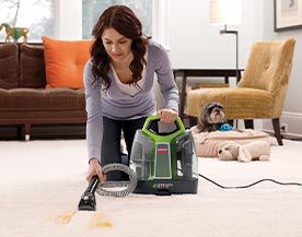 Nettoyeurs de tapis et shampouineuses