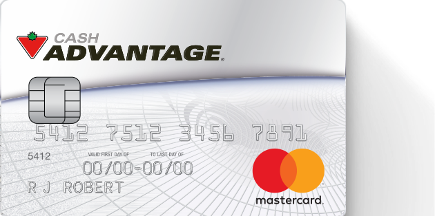 Cash Advantage Mastercard