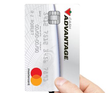 Canadian Tire Mastercard >> Cash Advantage Mastercard