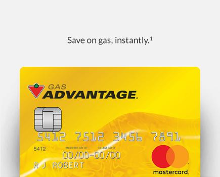 Canadian Tire Mastercard >> Options Mastercard