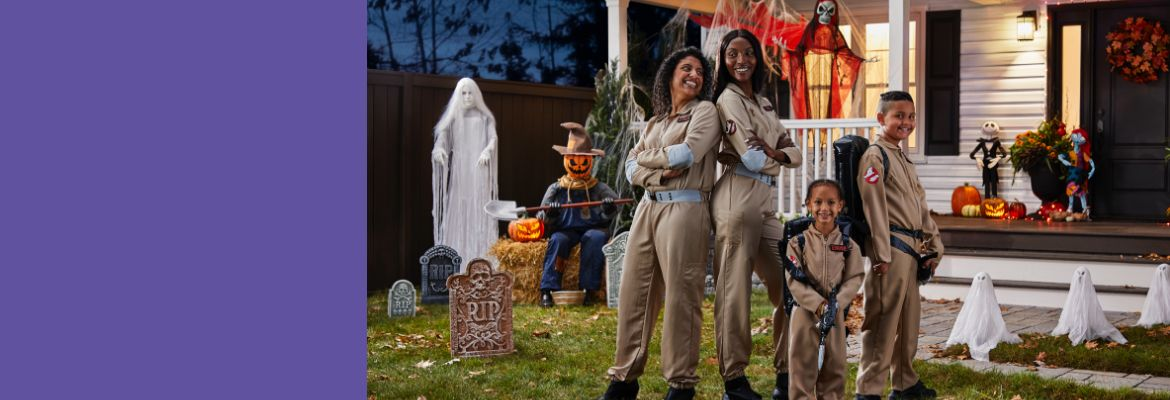Make people smile or scream and show your creativity with an epic Halloween costume.