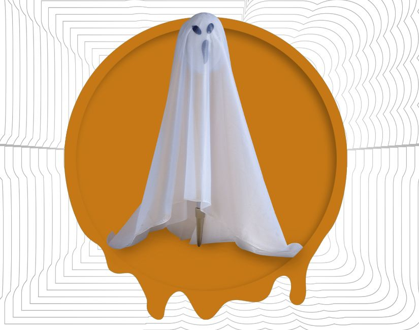 Light-Up Ghost Lawn Stake