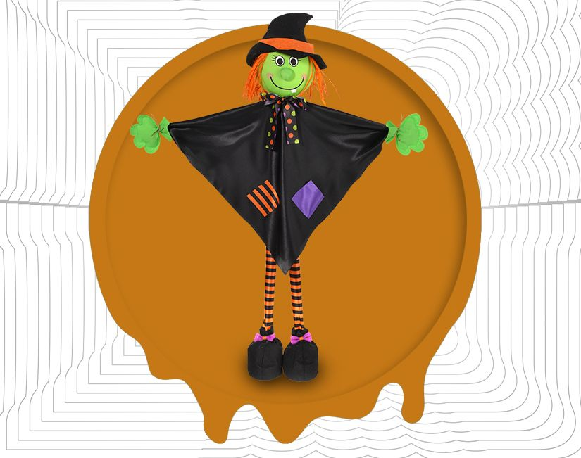 Happy Standing Witch