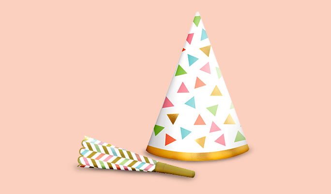 Birthday Party Hats, Blowouts & Wearables