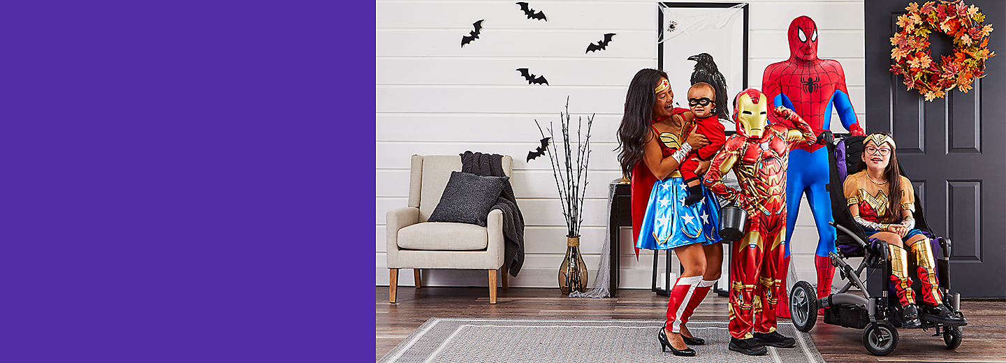 From fan favourites, to ghouls and gore, we've got head-turning Halloween costumes for everyone.