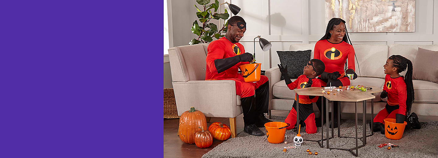 We've got everything you need to dress up, decorate, trick-or-treat, or host a haunted bash.