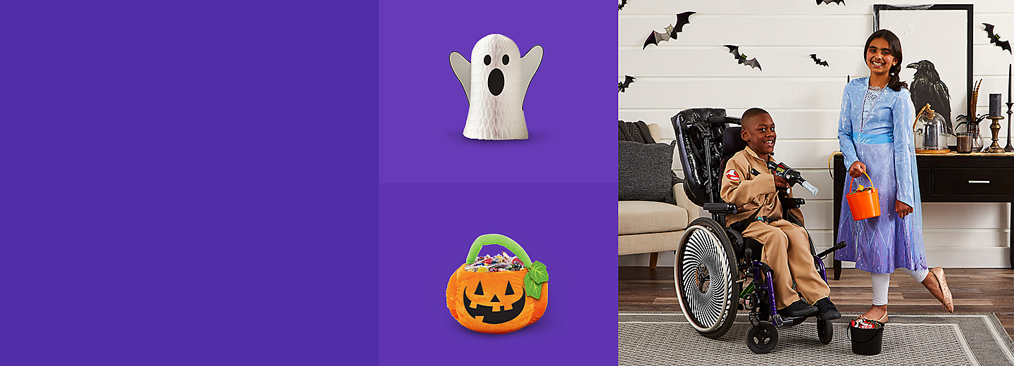 Get all the décor, costumes, and party supplies you need to have the best Halloween ever.