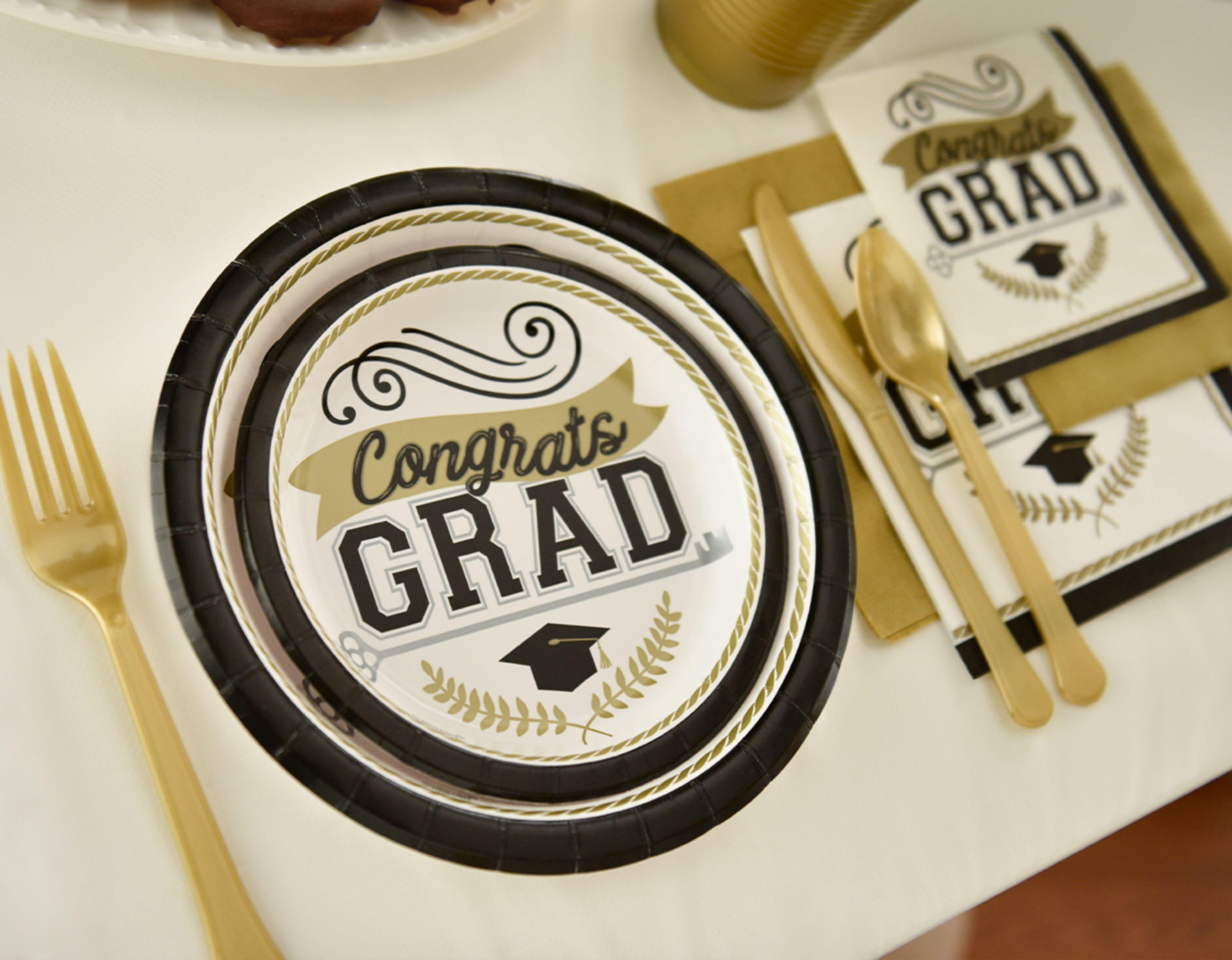 Vaisselle de remise des diplômes
