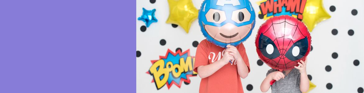 From Marvel or Disney fan favourites to cute cartoons and fun fantasies, find the best birthday theme for your kiddo.